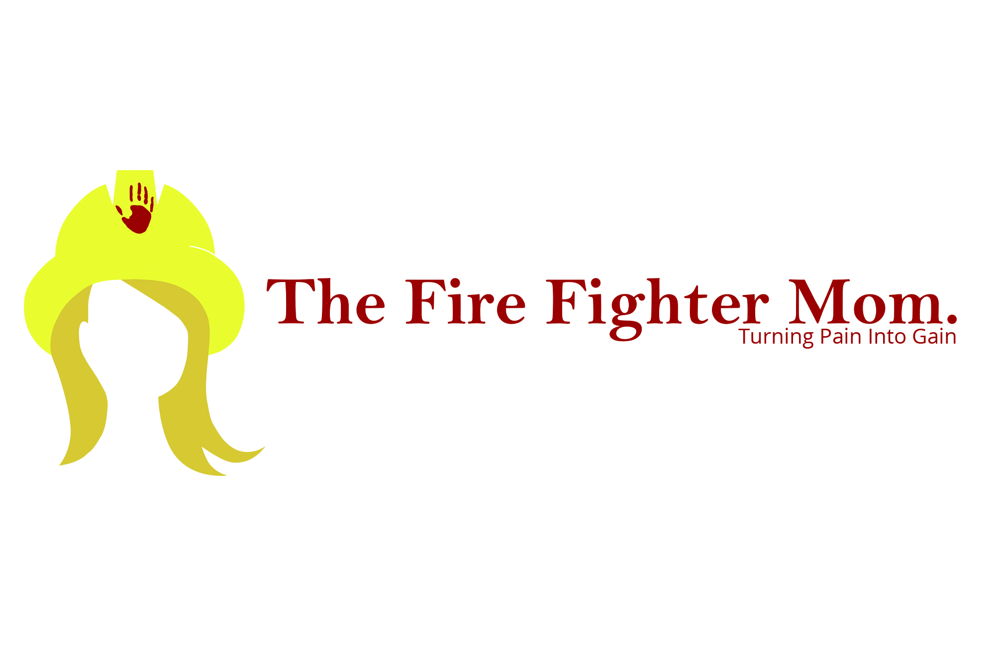 Business card The Fire Fighter Mom - Back